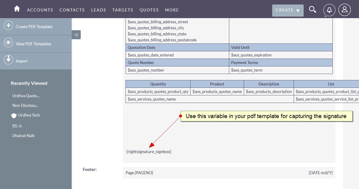 user guide esign rightsignature