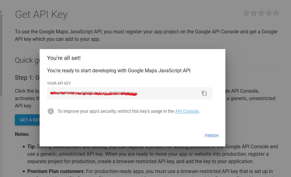 SuiteCRM Google map API Key Step-3