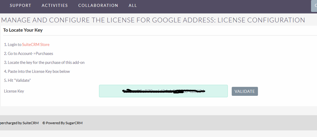 Installation Guide | Google Address