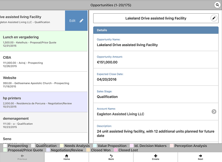 Combined List View / Detail View on iPad and Android tablets