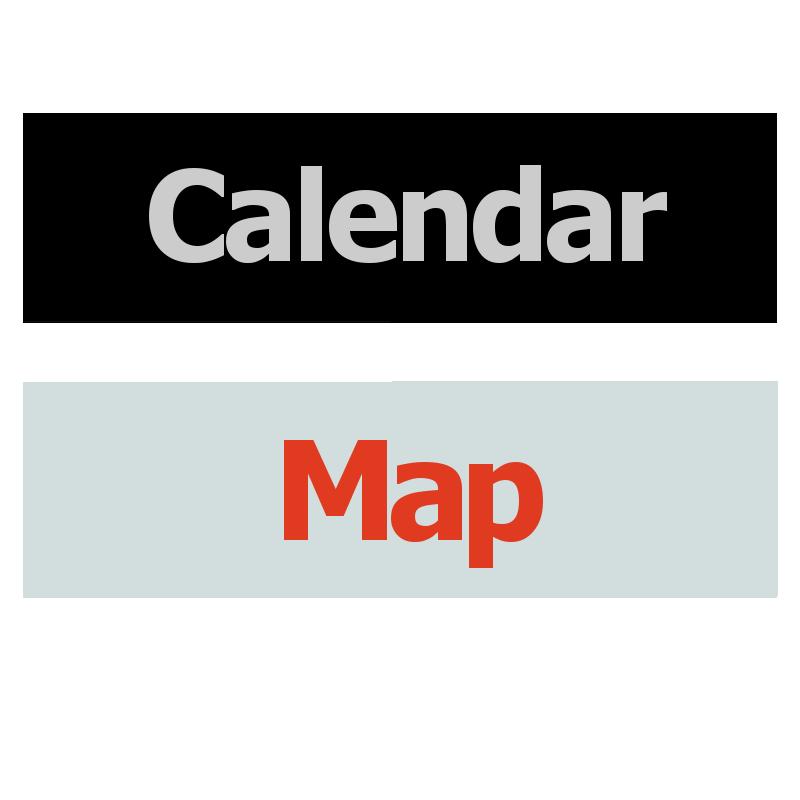 Calendar Map Logo