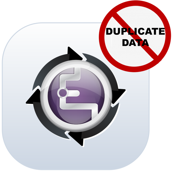 Enjay Blackberry - De-duplication Preventive Logo