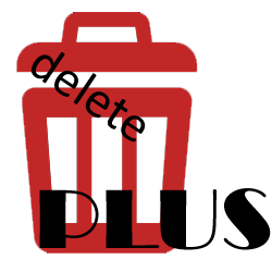 deletePLUS Logo