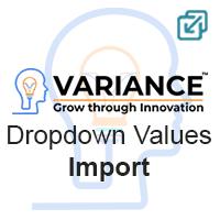 Import to Dropdown fields Logo