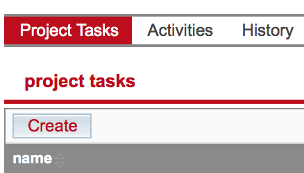 Email notification enabled for Project Task Logo