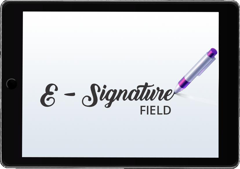 E-signature Field Logo