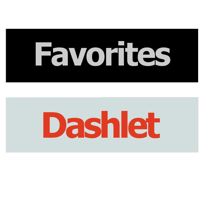 Favorites Dashlet Logo