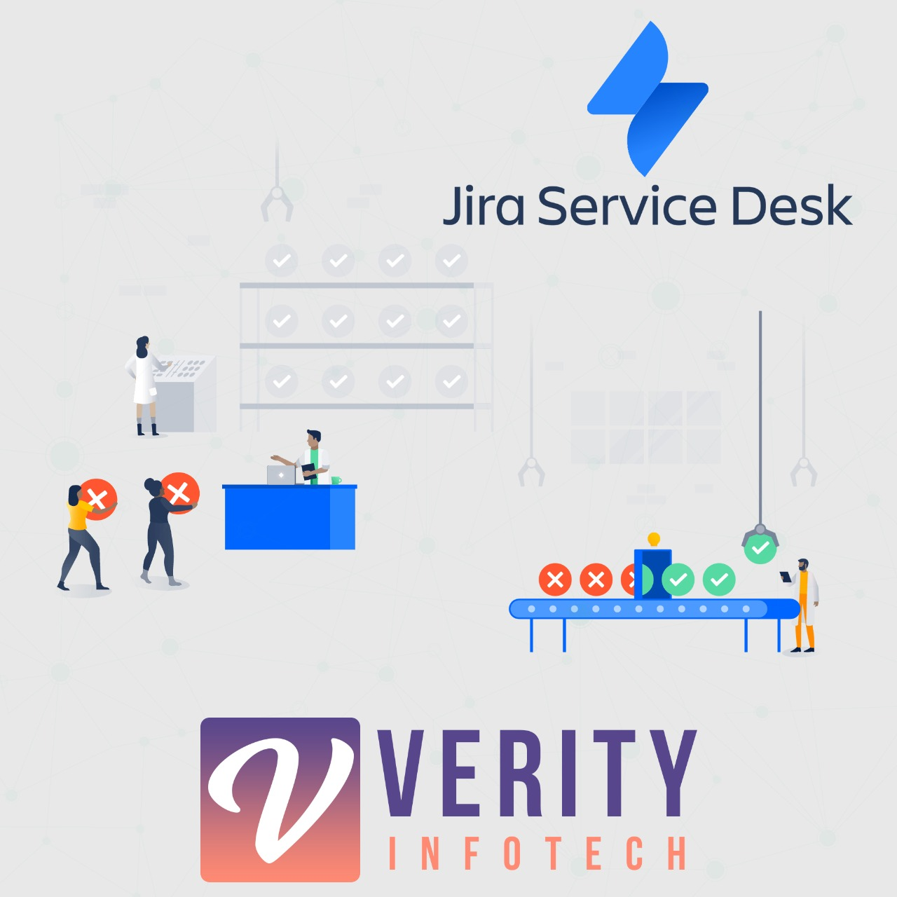 Jira Service Desk with SuiteCRM Logo