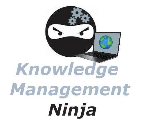 Knowledge Management Ninja Logo