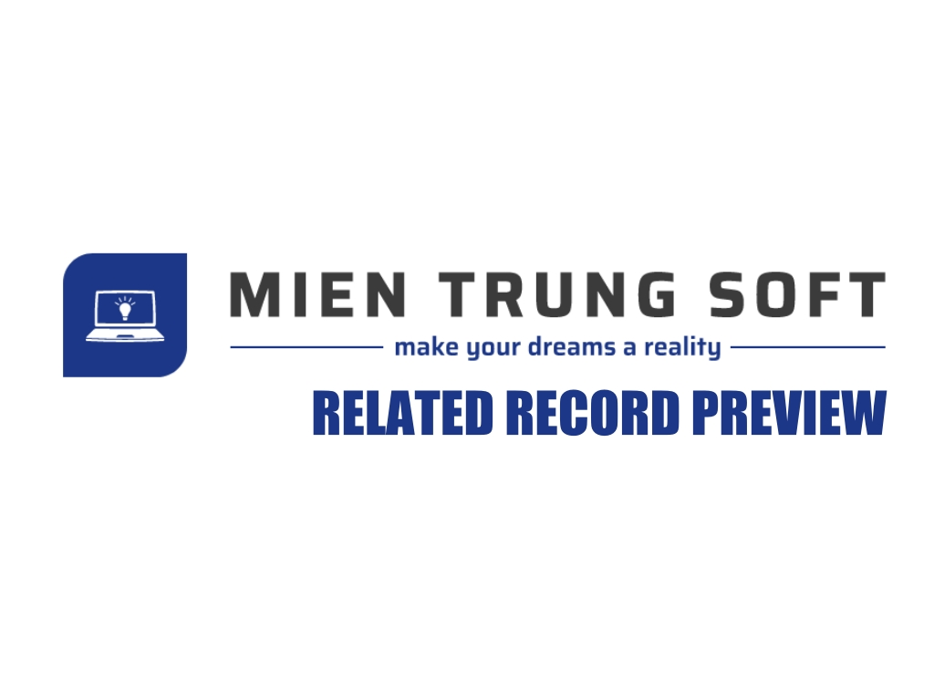 MTS Related Record Preview Logo