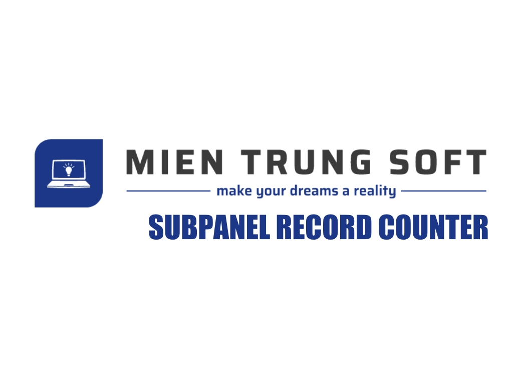 MTS SubPanel Record Counter Logo