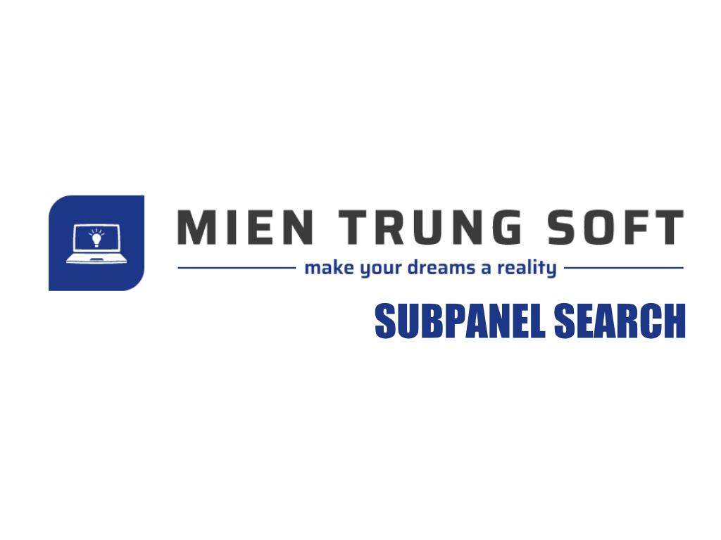 MTS SubPanel Search Logo