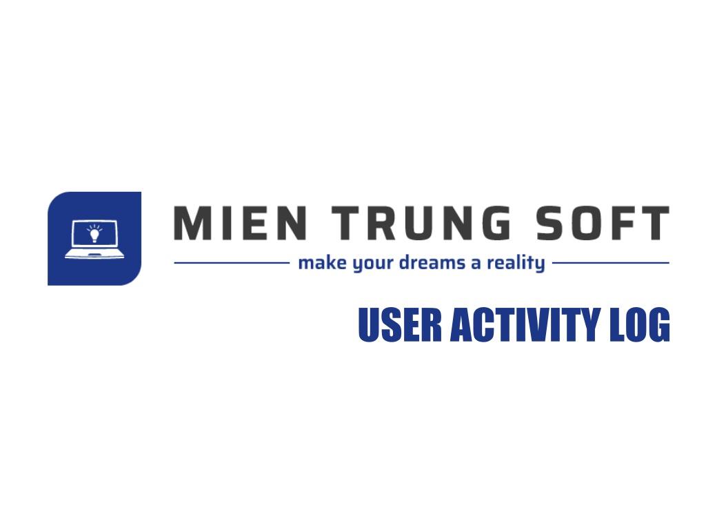 MTS User Activity Log Logo