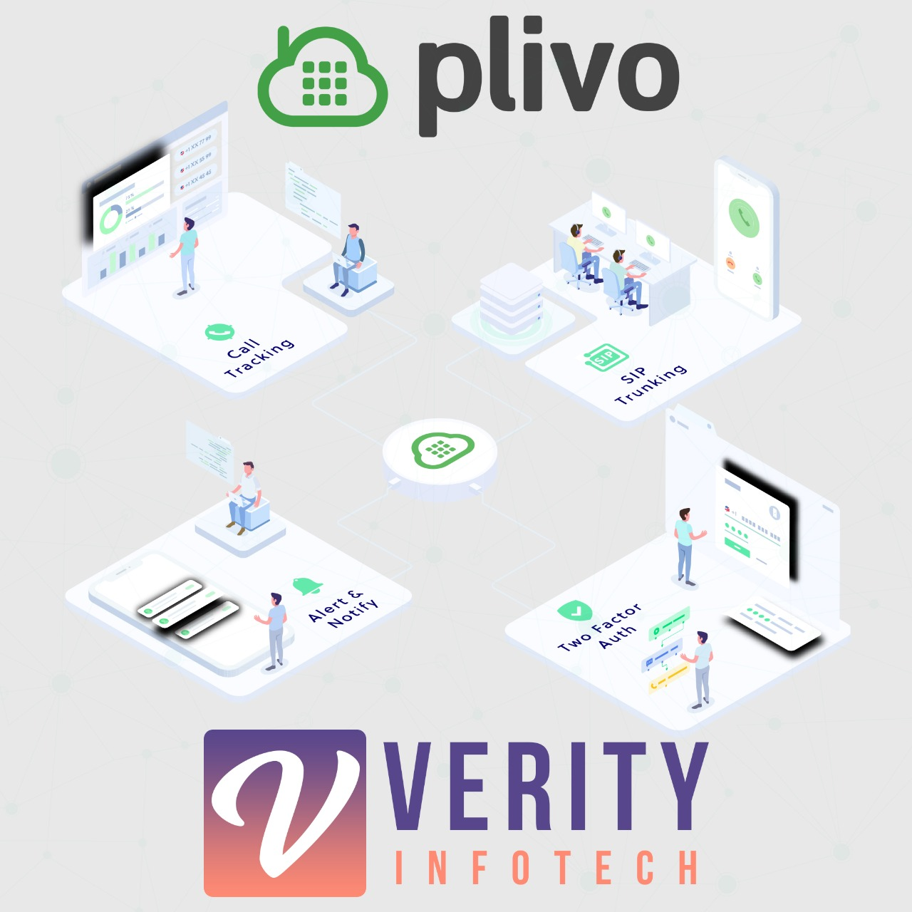 Plivo Click-to-Call Logo