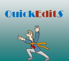 QuickEditS Logo