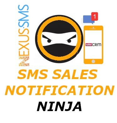 SMS Sales Notification Ninja Logo