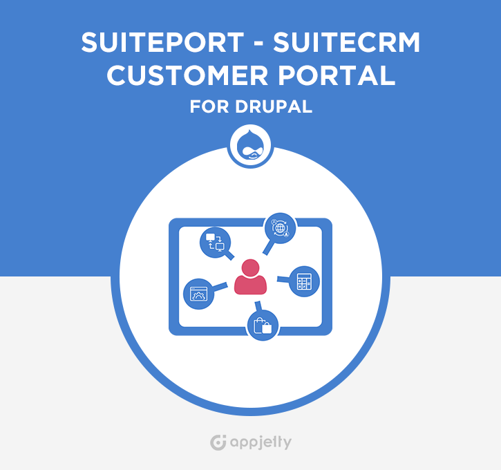 SuitePort - SuiteCRM Customer Portal for Drupal Logo