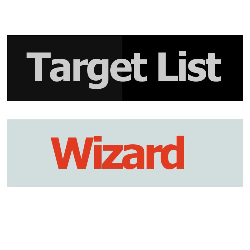 Target List Wizard Logo