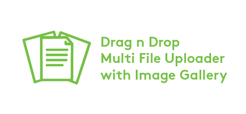 Image & Document Gallery, Drag n Drop Multi Upload Logo