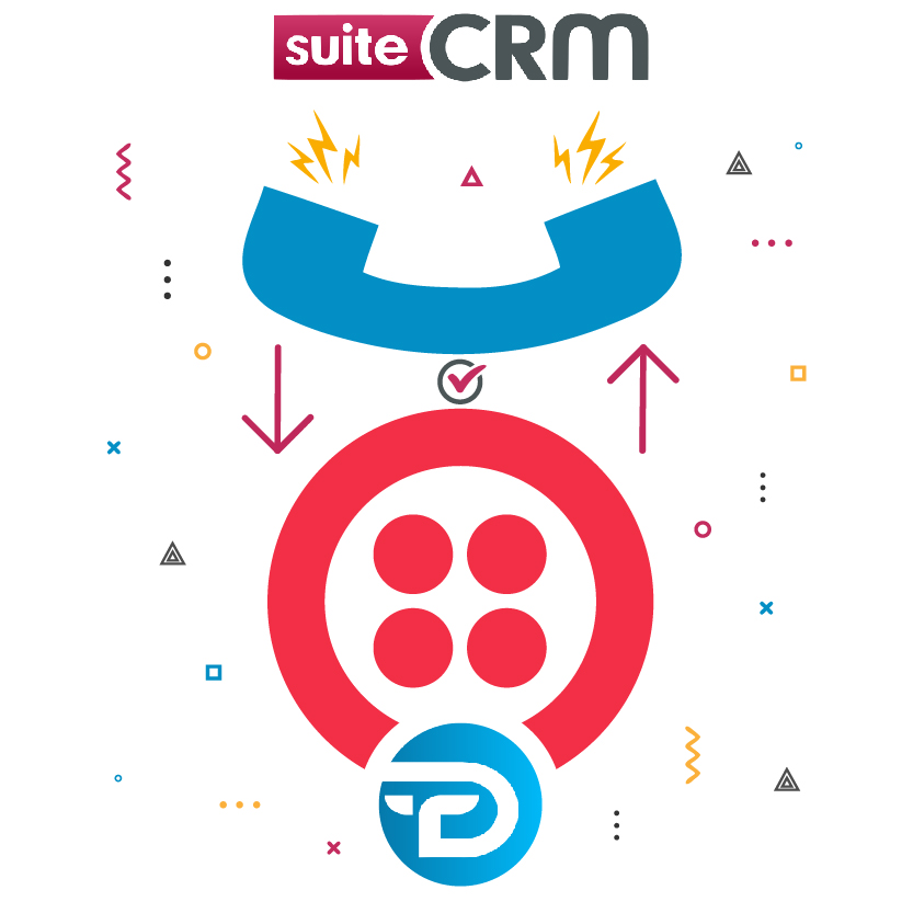 Twilio Call Integration With SuiteCRM Logo