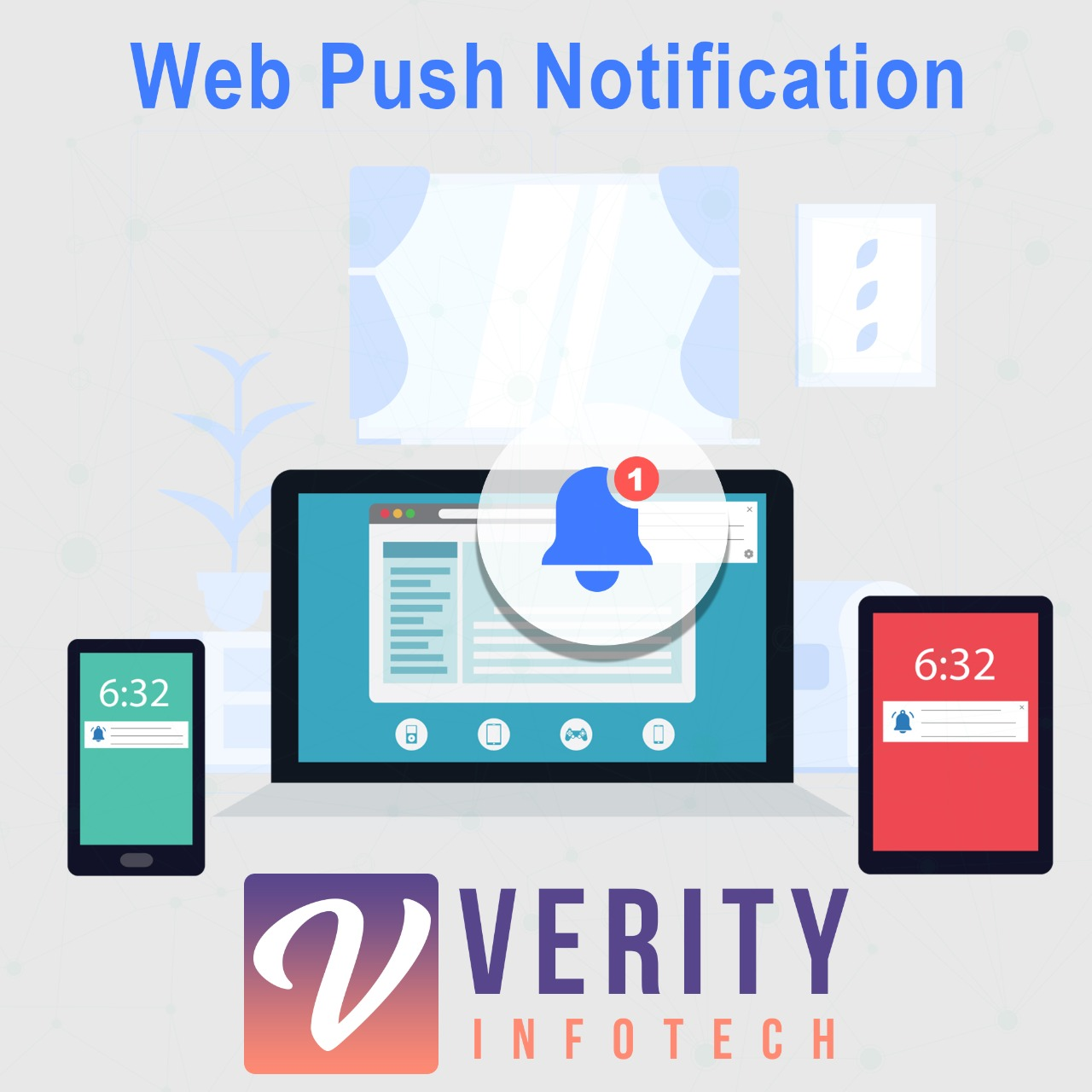 Web Push Notifications for SuiteCRM Logo