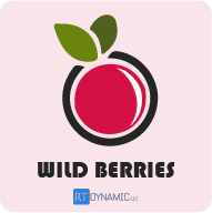 Wild Berries Theme Logo