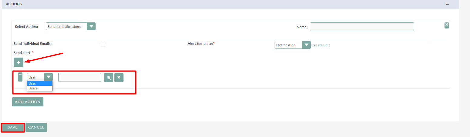 Alert Messages add-on for SuiteCRM