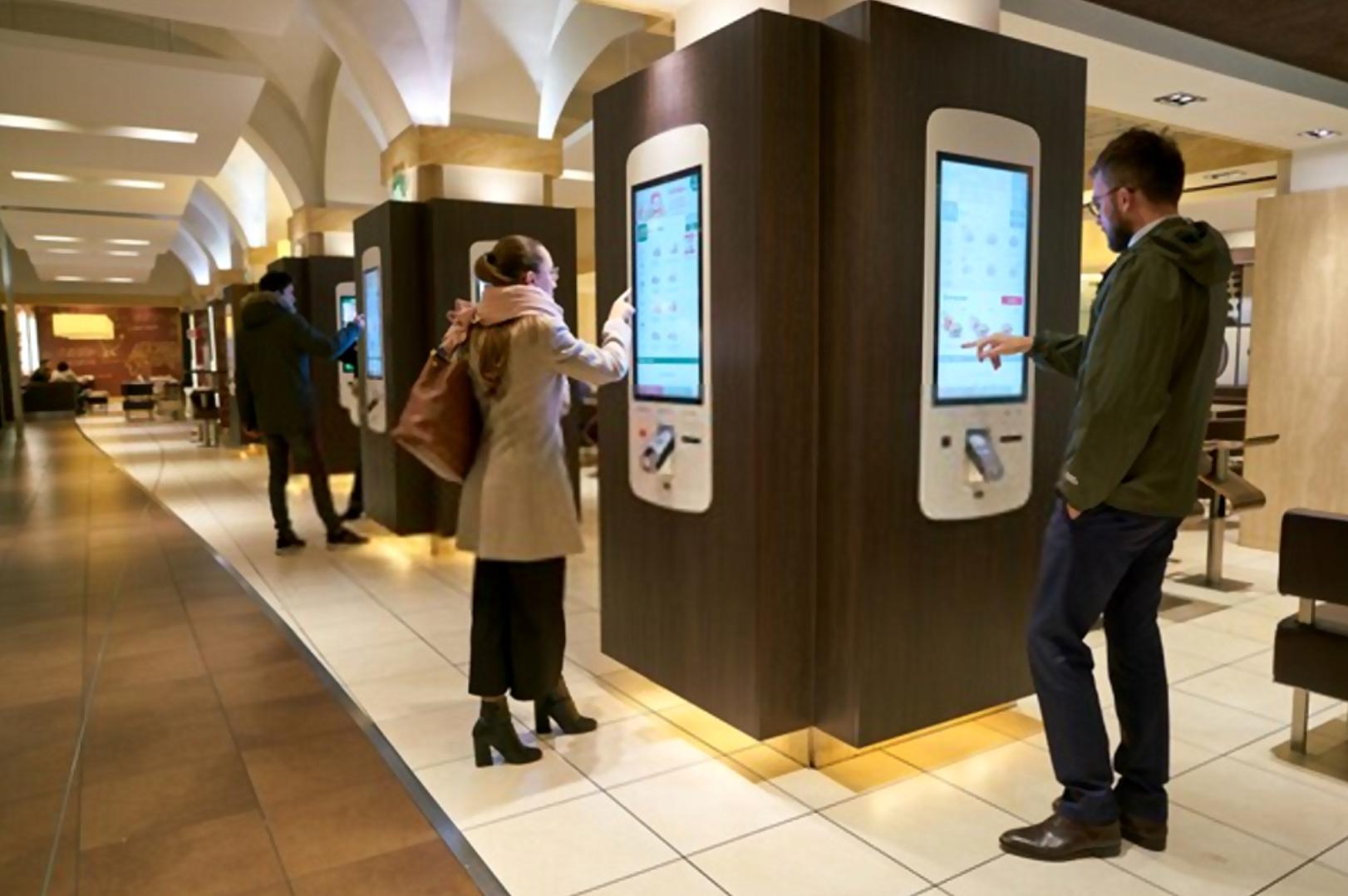 Customer self service kiosks