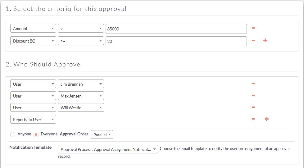 Set up approval process for SuiteCRM