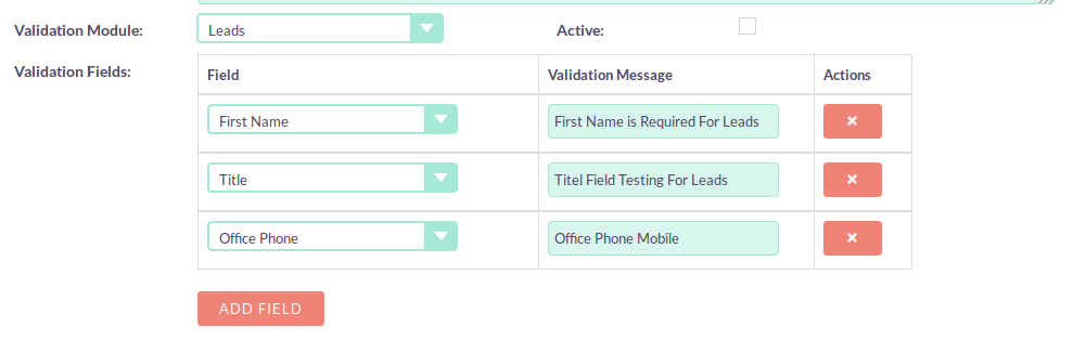 Modify SuiteCRM Validation Messages