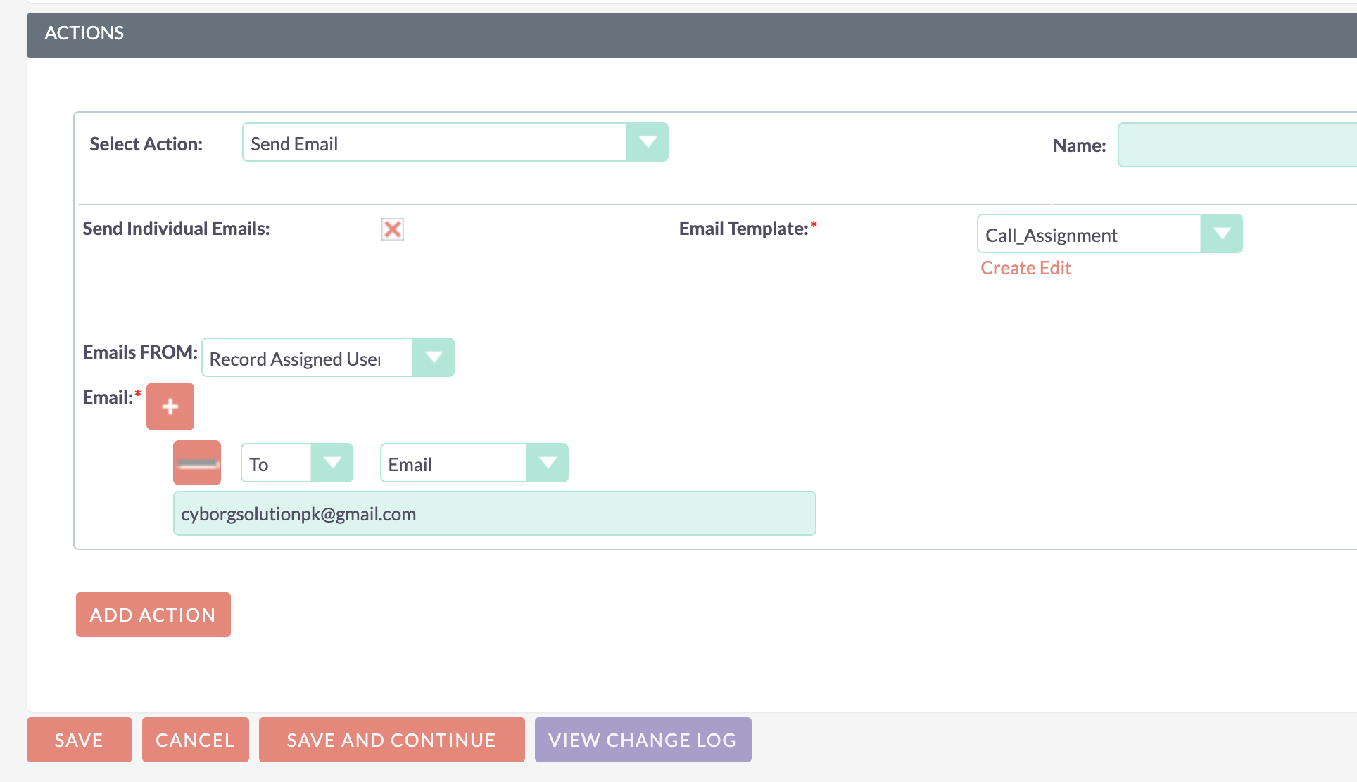 Email FROM Masquerader in Workflow add-on for SuiteCRM