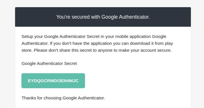 Google Authentication for SuiteCRM code
