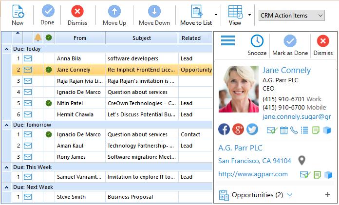 SuiteCRM Enterprise-Class Outlook Plugin