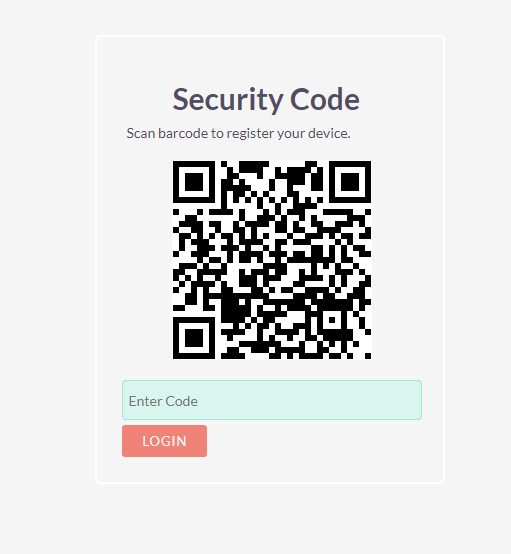 Two-Factor Authentication add-on for SuiteCRM QR code